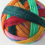 """Van Gogh's Bedroom"" Self-striping Sock Yarn"