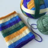 """Irises"" Self-striping Sock Yarn"