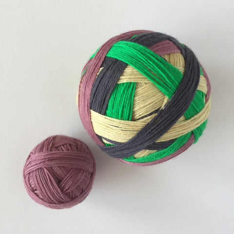 """Year of the Ox"" Self-striping Sock Yarn"