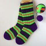 """Scare Your Socks Off!"" Self-striping Sock Yarn"