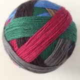 """Over the Town"" Self-striping Sock Yarn"