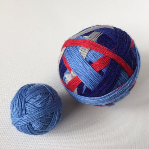 """Music City Miracle"" Self-striping Sock Yarn"