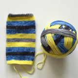 """Because I'm Happy"" Self-striping Sock Yarn"