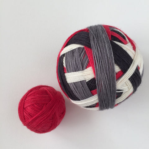 """Sun Blocked"" Self-striping Sock Yarn"
