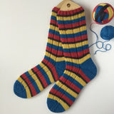 """... And I'm Not Even a Trekkie!"" Self-striping Sock Yarn"