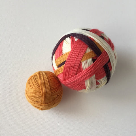 """The Wayfinder"" Self-striping Sock Yarn"