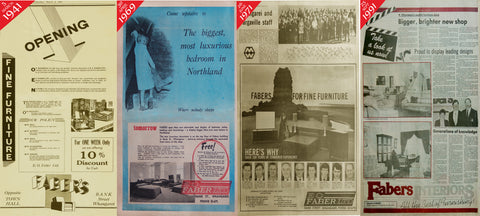 Faber Past Adverts