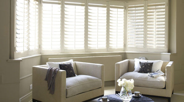 Luxaflex Country wood Shutters at Fabers Furnishings