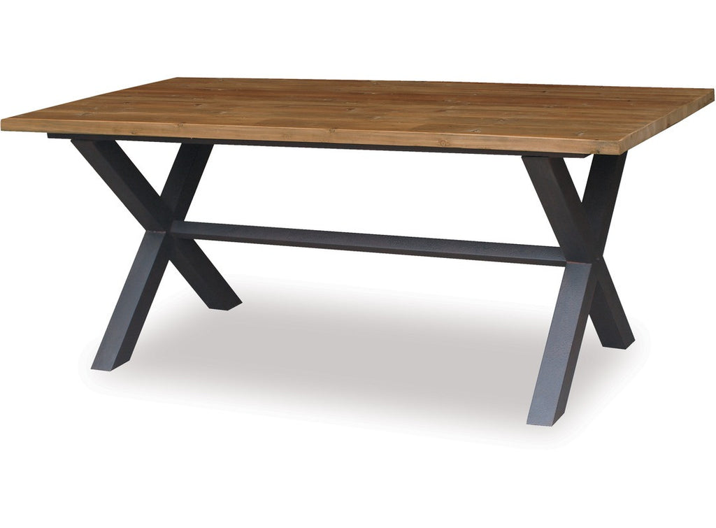 Cross Dining Table by Danske Mobler available at Fabers Furnishings