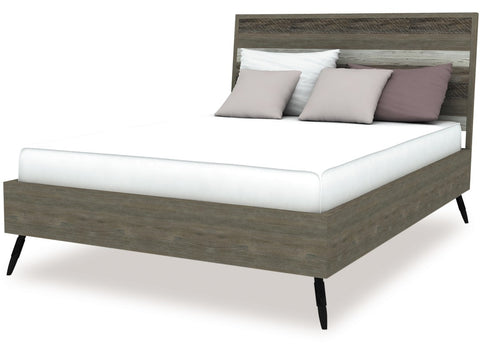 Havana Slat Bed available in Queen and King Size at Fabers Furnishings