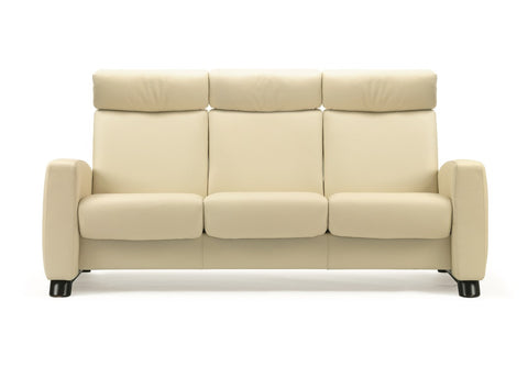 Arion High 3 Seater Sofa by Stressless at Fabers Furniture
