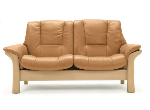 Buckingham Low 2 Seater Sofa by Stressless at Fabers Furnishings