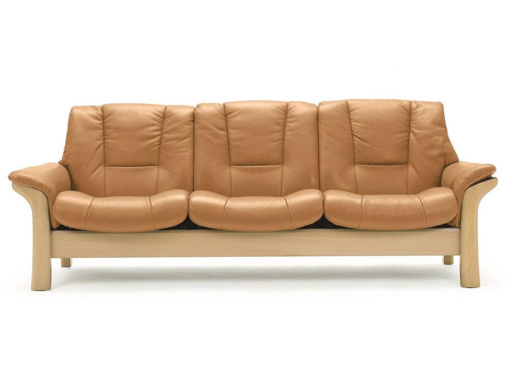 Buckingham Low 3 Seater Sofa by Stressless at Fabers Furnishings