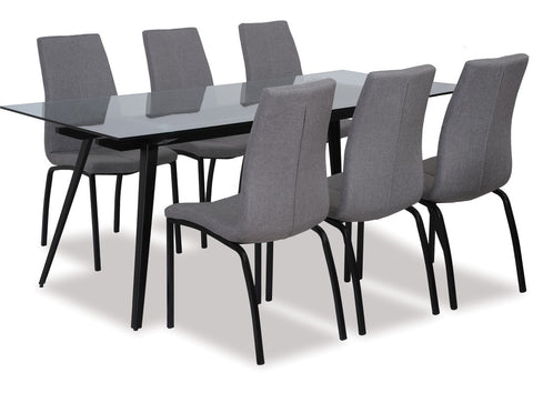 Monti Dining Set available at Fabers Furnishings
