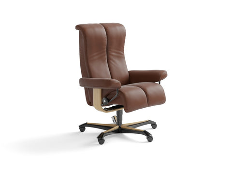 Piano Office Chair by Stressless at Fabers Furnishings