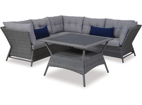 Cocoon Wicker Suite by Eden Outdoor available at Fabers Furnishings