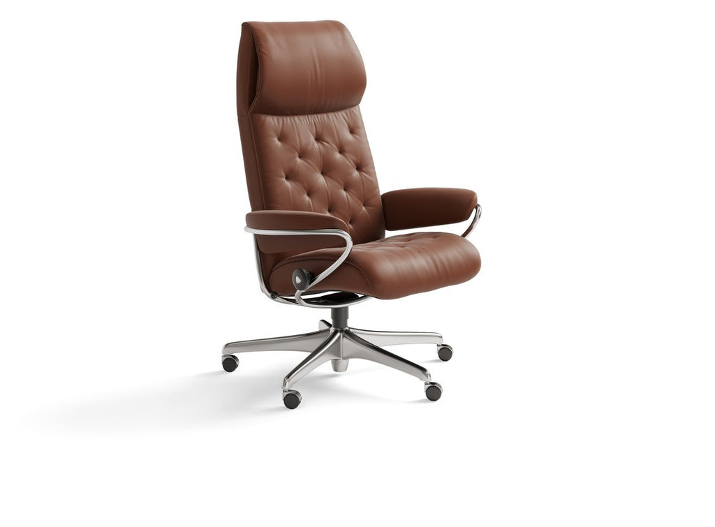 Metro High Office Chair by Stressless at Faber's Furnishings