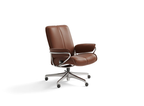 City Low Office Chair by Stressless at Fabers Furnishings