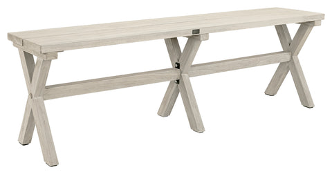 Artwood Cross Outdoor Teak Bench available at Fabers Furnishings