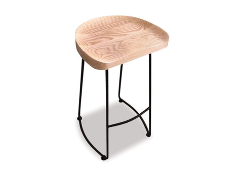 Danske Mobler Isola Barstool at Fabers Furnishings