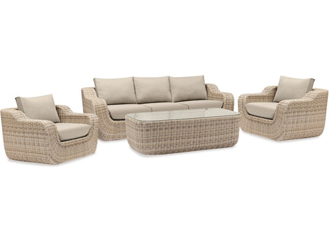 Malta 4pce Outdoor Suite by Eden Outdoor available at Fabers Furnishings