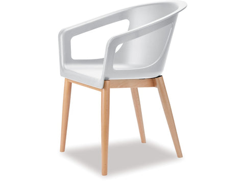 Danske Mobler Pod Dining Chair at Fabers Furnishings