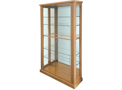 Danske Mobler Avondale Tall China Cabinet (LED Light) at Fabers Furnishings