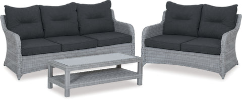 Danske Mobler Bali 3pce Outdoor Wicker Suite available at Fabers Furnishings
