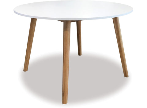 Danske Mobler Turin 1200 Round Dining Table availalbe at Fabers Furnishings