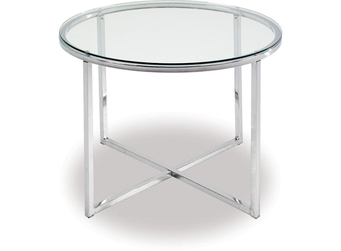 Cross Lamp Table