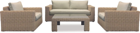Danske Mobler Marbella 4pce Outdoor Lounge Suite available at Fabers Furnishings