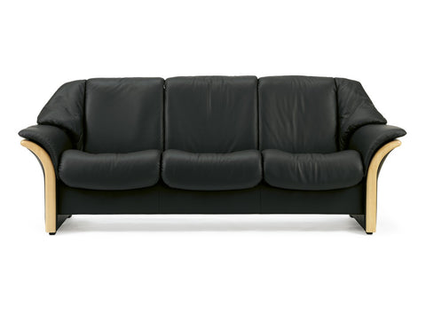 Eldorado Low 3 Seater Sofa by Stressless at Fabers Furnishings