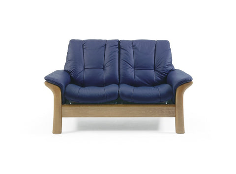 Windsor low 2 seater Sofa by Stressless at Fabers Furnishings
