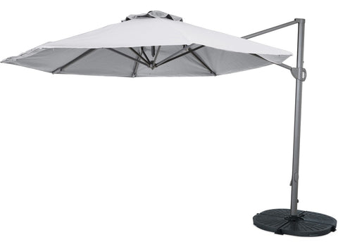 Eden Outdoor Titan 3.3m Round Cantilever Umbrella at Fabers Furnishings