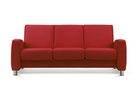 Arion Low 3 Seater Sofa by Stressless at Fabers Furniture