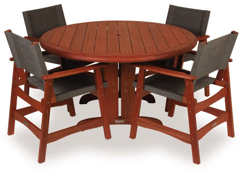 Eden 130cm Dining Set at Fabers Furnishings