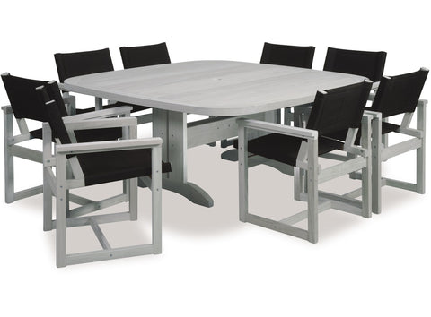 Sqe Outdoor Dining Set by Eden available at Fabers Furnishings
