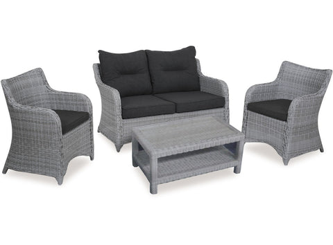 Bali 4 Piece Wicker Suite at Fabers Furnishings