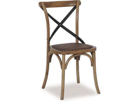Natural Cross Dining Chair available at Fabers furnishings