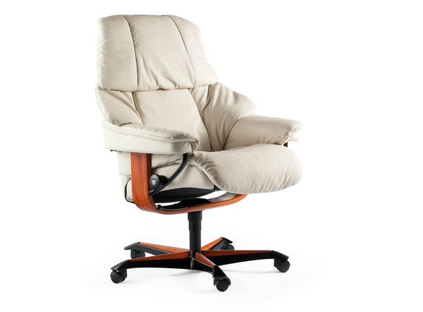 Reno Stressless Office Chair Fabers Furnishings