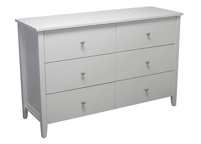 Adventure 6 Drawer Lowboy by Coastwood available at Fabers Furnishings