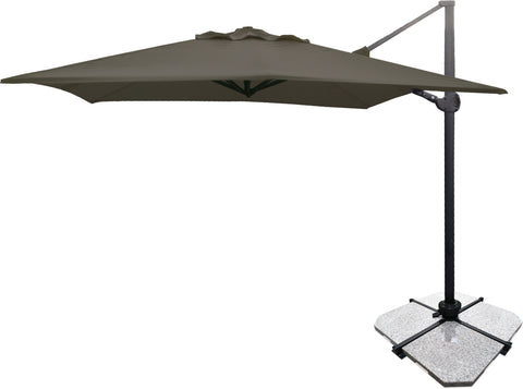 Danske Mobler Atlas 3m Square Cantilever Umbrella available at Fabers Furnishings