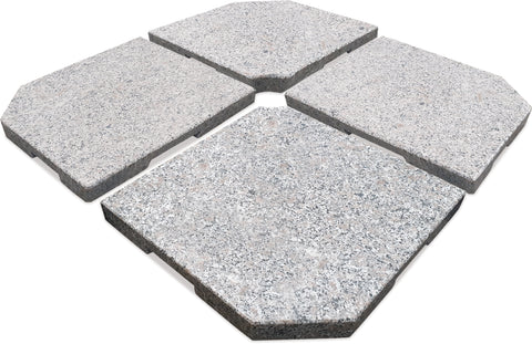 Danske Mobler Atlas 4pce 100KG Granite Umbrella Base available at Fabers Furnishings