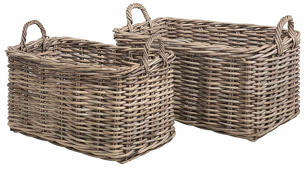 Artwood Rectangle Baskets available at Fabers Furnishings