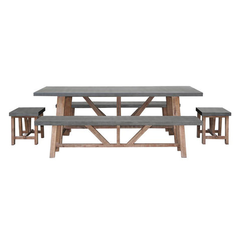 Excalibur Brooklyn 5pce Dining Set at Fabers Furnishings