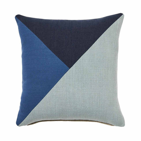 Warwick Jericko Cushion - Indigo at Fabers Furnishings