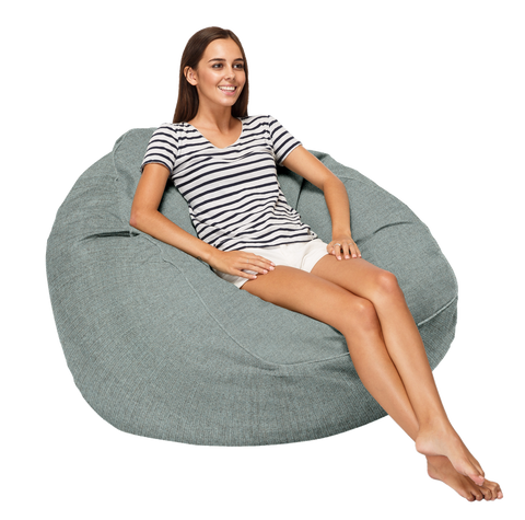 Coast New Zealand Marine Bean XL Blend Luxury Beanbag at Fabers Furnishings