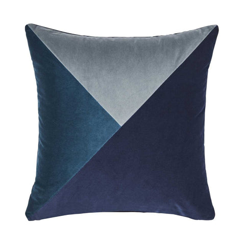 Warwick Paloma Cushion - Ink at Fabers Furnishings