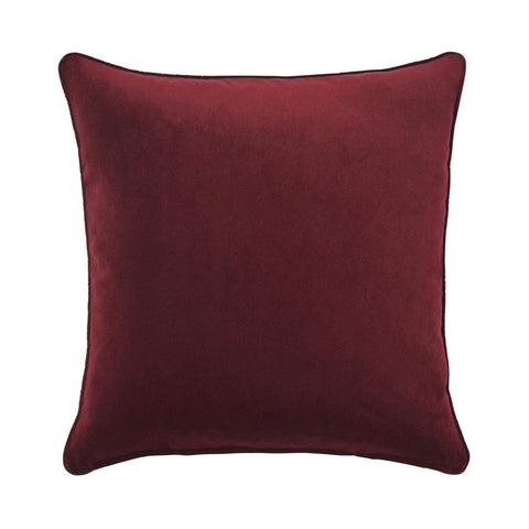 Warwick Zoe Cushion - Beetroot at Fabers Furnishings