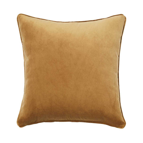 Warwick Zoe Cushion - Brass at Fabers Furnishings